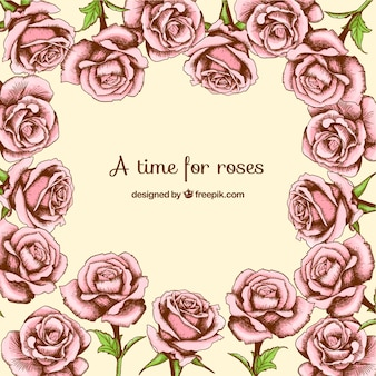A time for roses background