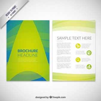 Absctract Brochure Headline
