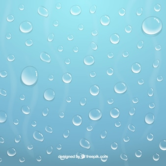 Abstrac background with water drops