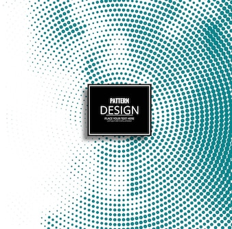 Abstract background design made of halftone dots