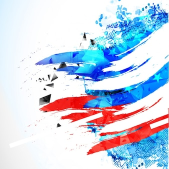 Abstract background for independence day of united states