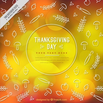 Abstract background for thanksgiving day