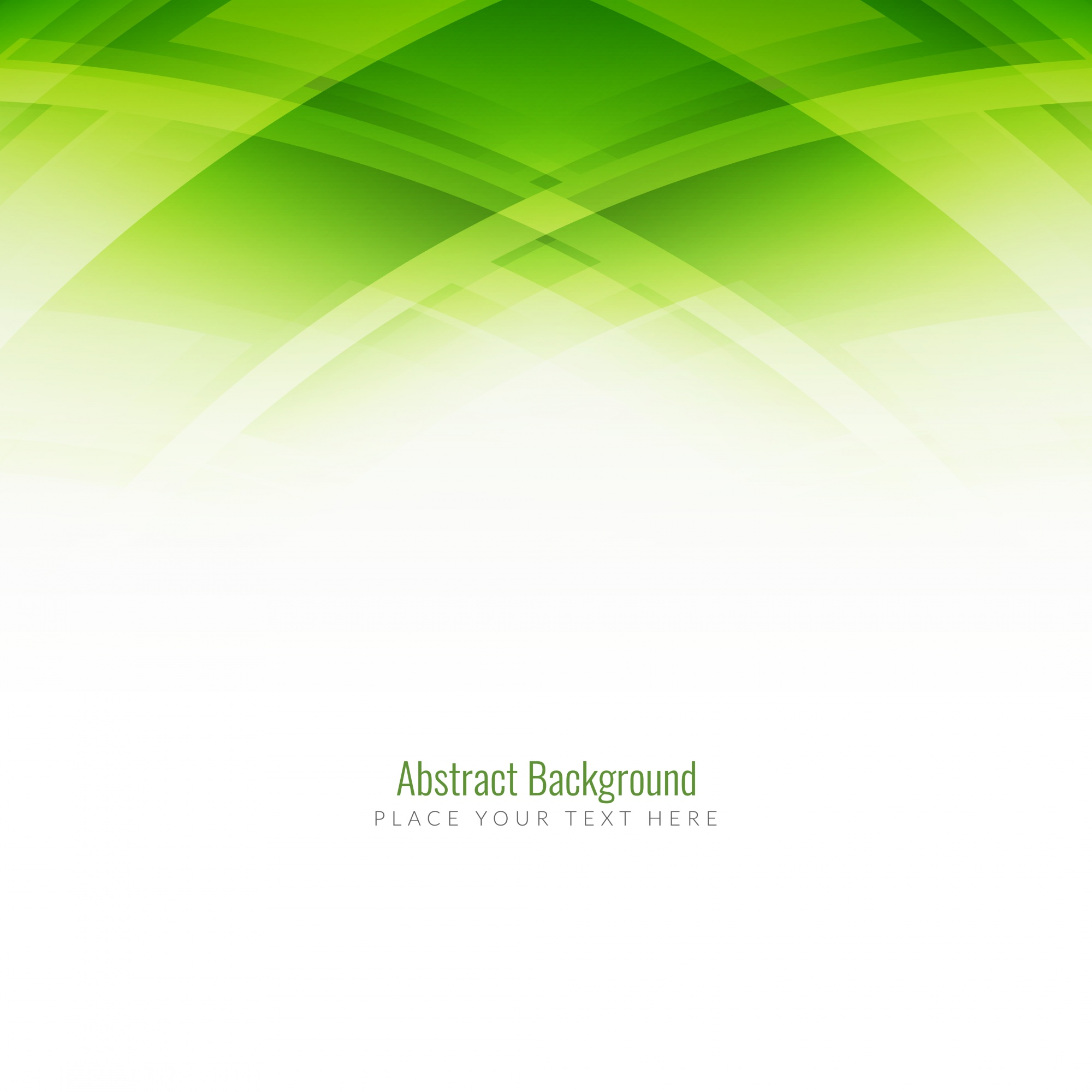 Abstract background, green tones