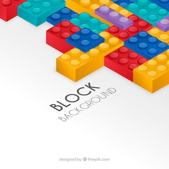 Abstract background in isometric style