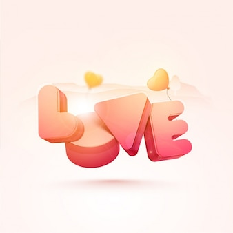 Abstract background in pastel colors for valentine's day