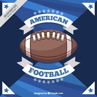 Abstract background of american football