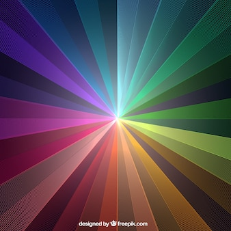 Abstract background of colorful stripes