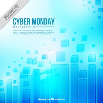 Abstract background of cyber monday