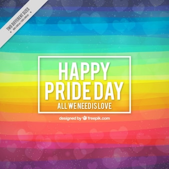 Abstract background of pride day with colorful stripes