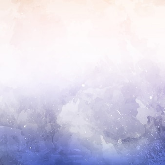Abstract background with a blue watercolor texture