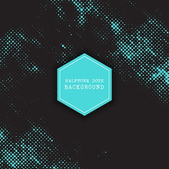 Abstract background with a halftone dots design