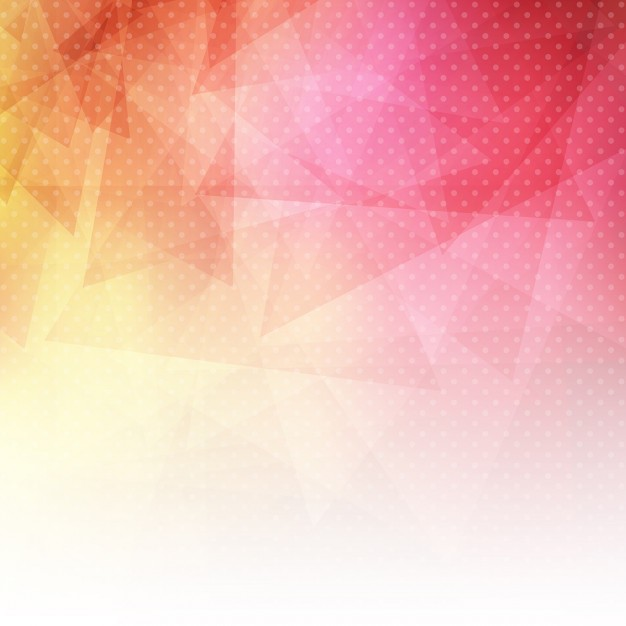 Abstract background with a low poly design and dots