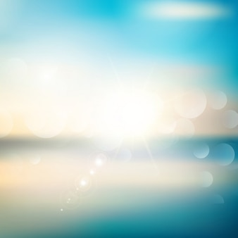 Abstract background with a summer theme