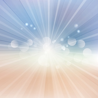 Abstract background with a sunburst design