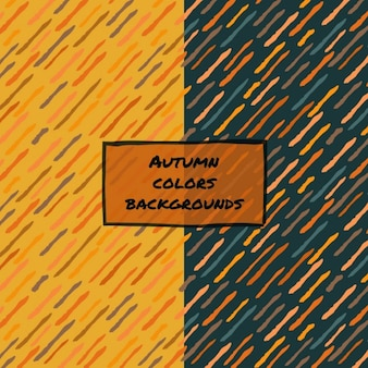 Abstract background with autumnal colors