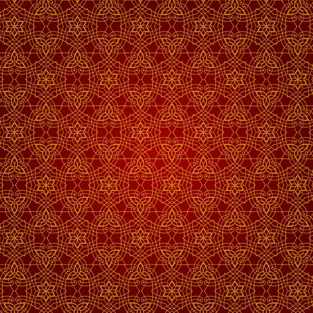 Abstract background with elegant ornaments