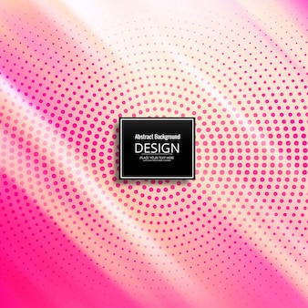 Abstract background with halftone design