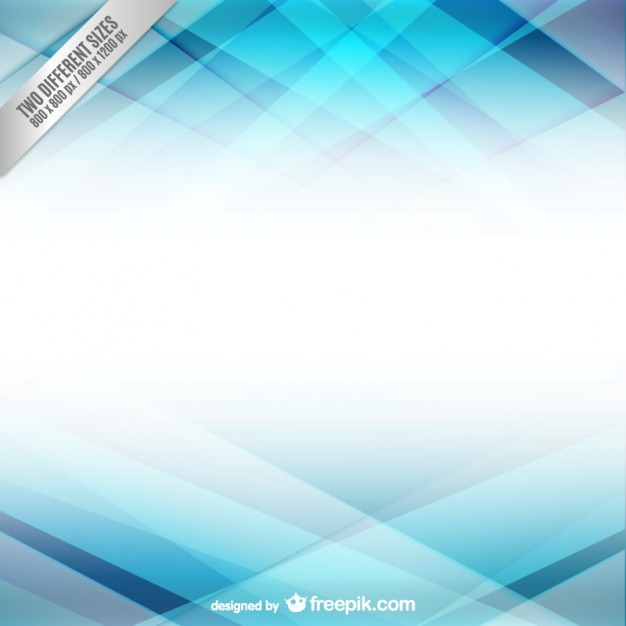 Abstract background with light blue shapes