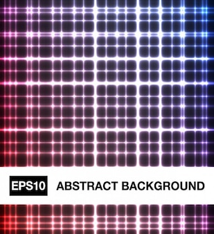 Abstract background with light squares
