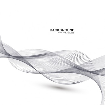 Abstract background with motion curves