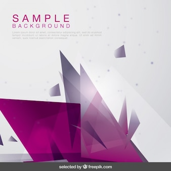 Abstract background with purple shapes