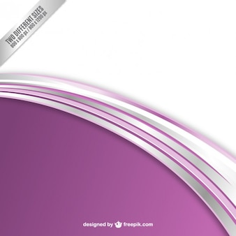 Abstract background with purple wave