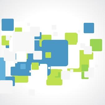 抽象的なベクトルパターンデザイン