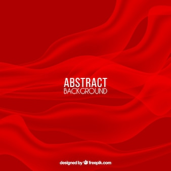 Abstract background with red smoke