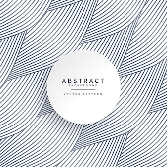 Abstract background with shapes and wavy lines