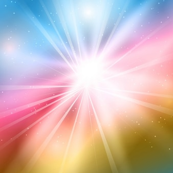 Abstract background with sparkle