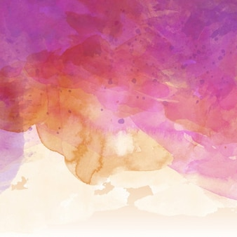 Abstract background with watercolor stains