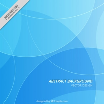 Abstract background with wavy forms and blue tones