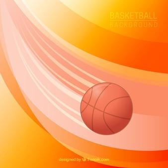 Abstract basketball ball background