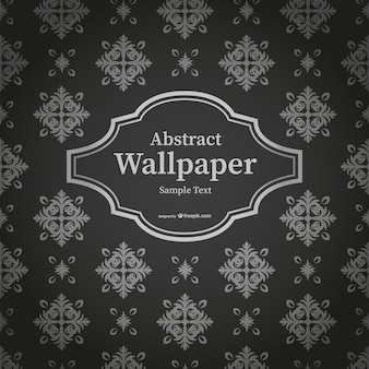 Abstract black and white Thai wallpaper