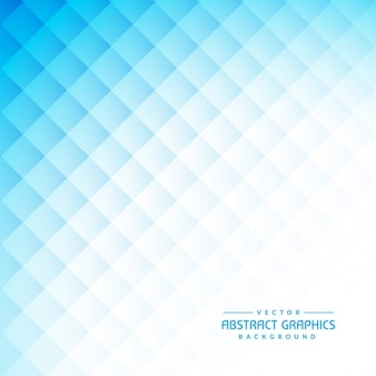 Abstract blue background with diamond shapes