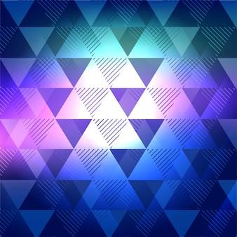 モダンな色とりどりの幾何