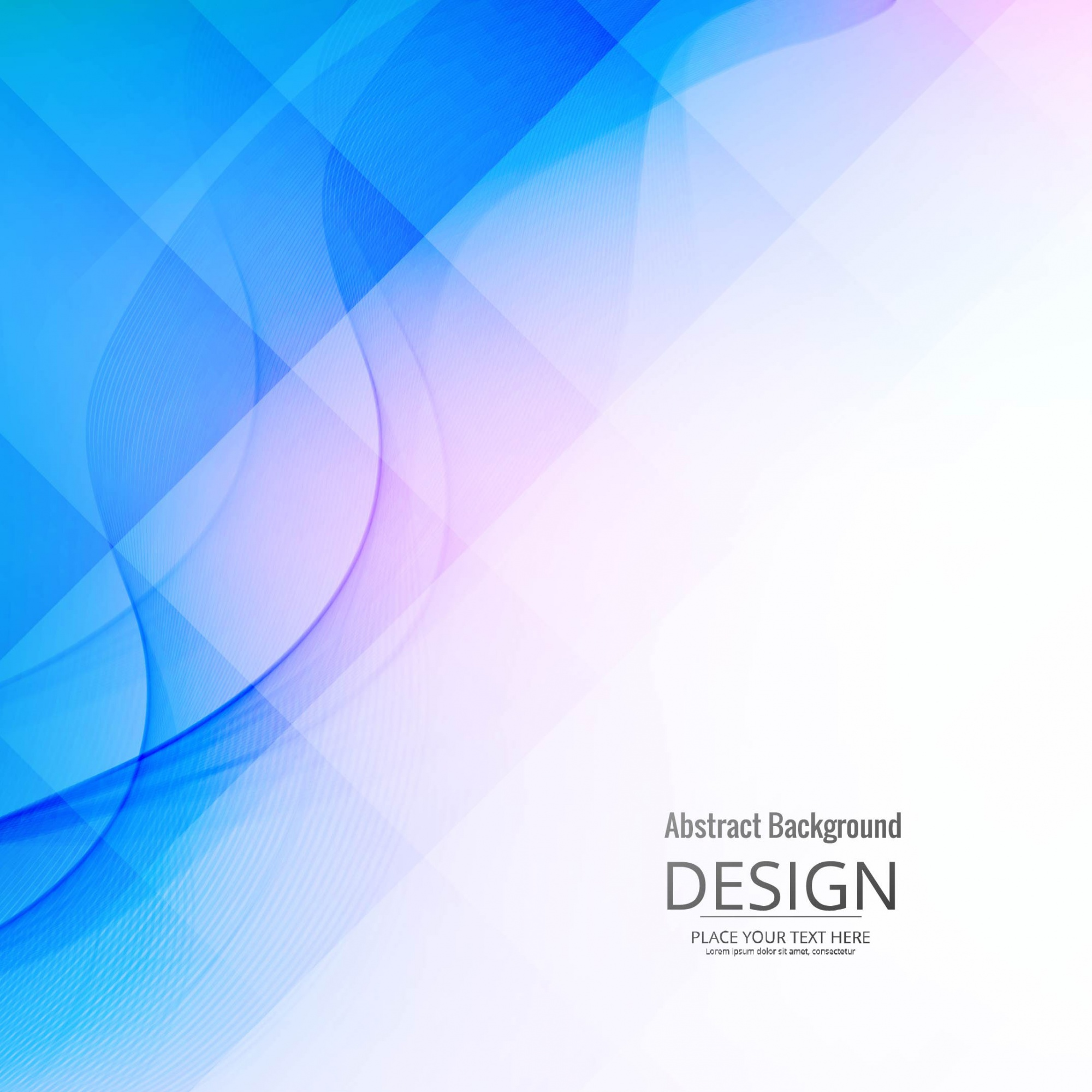Abstract blue modern background