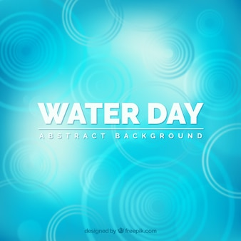 Abstract blue water day background