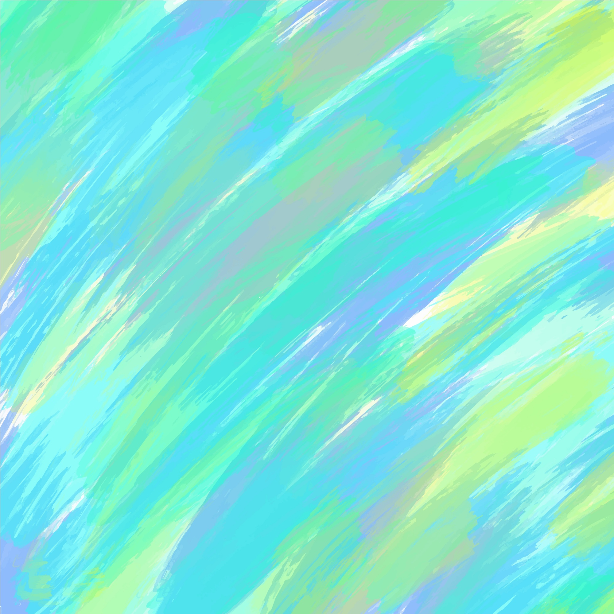 Abstract blue watercolor design