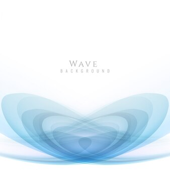 Abstract blue wave design background