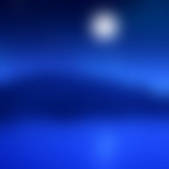 Abstract blur moonlit landscape background