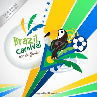 Abstract brazil carnival background