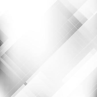 抽象的な明るいグレー色の幾何学的背景