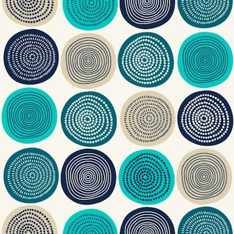 Abstract circles pattern design