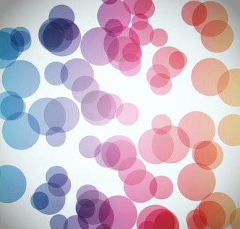 abstract circular background vector graphic