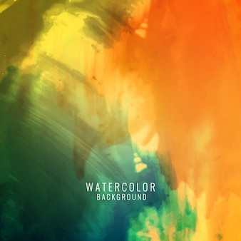 Abstract colorful elegant watercolor background