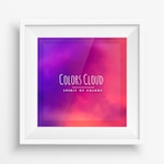 abstract colors cloud