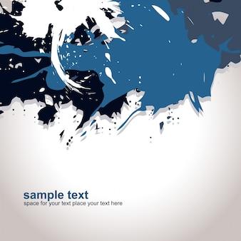 Abstract dark blue grunge background