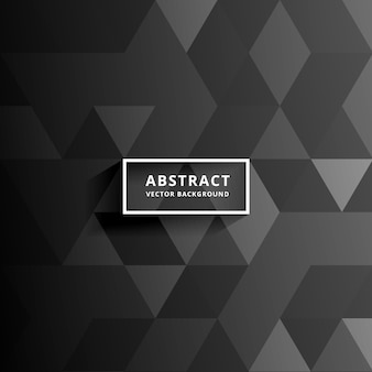 Abstract dark triangle background