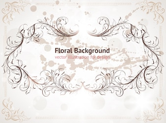 Abstract decor cover vintage background